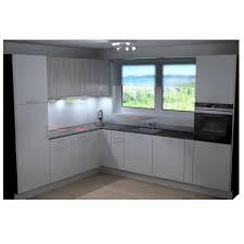küche l form weiss nur möbel ohne elektrogeräte