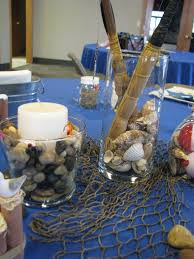 Crawfish Boil Table Decorations by 2012 Yfc Fish Fry Fishing Nautical Table Setting Fishing