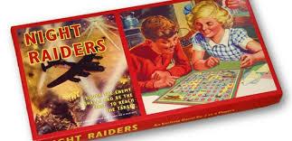 Night Raiders Vintage Board Game
