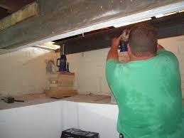Floor Joist Jack Crawl Space by Foundation Repair Adventures In Remodeling
