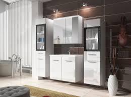 badmöbel set udine ii badezimmer komplett badmoebel mit waschbecken modern stil m24