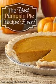 Libbys Pumpkin Pie Mix Ingredients List by My Favorite Homemade Pumpkin Pie Recipe