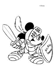 Mickey Mouse The Musketeer Knight