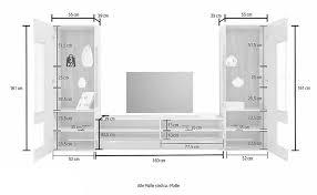 wohnwand 3 tlg anbauwand wohnzimmer weiß hochglanz alteiche matt neu 740921