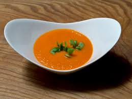 Bonnie Stern Madhur Jaffreys Red Pepper Soup With Ginger And Fennel Indian