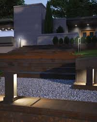 Contemporary Landscape Path Lighting A Modern Zenlike Design Approach The Syntra Outdoor Marvelous Decoration