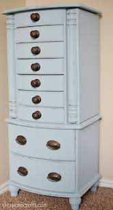 Jewelry Armoire Makeover With Valspar Chalky Finish Paint - U Create Antique Jewelry Armoire Masterpiece Parchment Hand Painted Pjh Designs Fniture Shabby Chic Pink 11 Best Jewelry Boxes Images On Pinterest Armoire Rustic Inspiration Expanded Your Mind Powell Chalk Vintage Best 25 Ideas Cabinet And Distressed In Robin Egg Blue 0