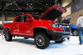 SEATTLE, WA - NOVEMBER 12, 2017: The 2018 Chevrolet Colorado ... 2017 Chevy Colorado Mount Pocono Pa Ray Price Chevys Best Offerings For 2018 Chevrolet Zr2 Is Your Midsize Offroad Truck Video 2016 Diesel Spotted At Work Truck Show Midsize Pickup Of Texas 2015 Testdriventv Trucks Riding Shotgun In Gms New Midsize Rock Crawler Autotraderca Reignites With Power Review Mid Size Adds Diesel Engine Cargazing 2011 Silverado Hd Vs Toyota Tacoma