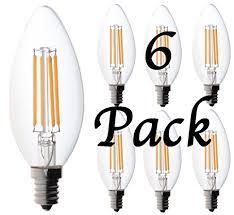60 watt candelabra bulbs bioluz led candelabra bulbs dimmable