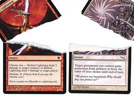 how to spot counterfeit magic the gathering cards by sam
