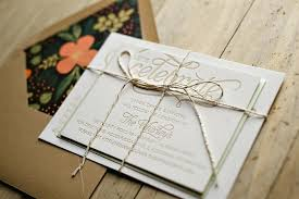 Affordable Letterpress Wedding Invitations