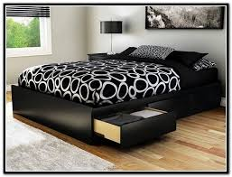 king platform bed with headboard low king size platform bed