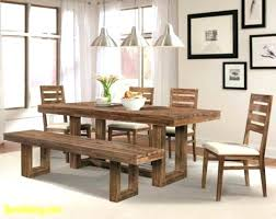 Dining Room Table And Bench Sets With New