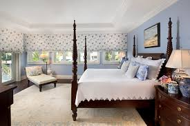 Private Residence In British Colonial Style Traditional Bedroom