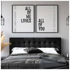 poster set all of me all of you etsy