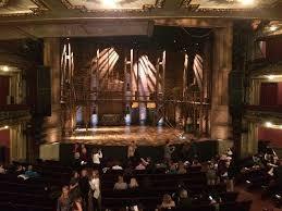 Balcony Row H Seat 405 Picture of CIBC Theatre Chicago