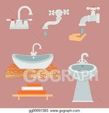 eps illustration bad ausrüstung symbol kloschüssel
