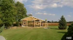Pole Barn Start To Finish 32x40x12 - Time Lapse - YouTube Garage Cost To Build A 30x40 Pole Barn 2 Story Kits Residential Buildings Timberline Images Of Pole Barn With Lean To 30 X 40x 12 Wall Ht House Plan Prices Amish Country Barns Menards Portable Strict Budget Build In Nj The Journal Board Milligans Gander Hill Farm Eight Nifty Tricks Save Money When Building A Wick Morton Hansen Affordable