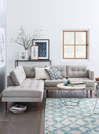 light grey sectional sofa best 25 gray sofas ideas on