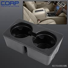 100 Truck Cup Holder Black For 20072014 GMC Chevy SUV Ebony Front Console