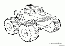 Monster Truck Drawing Easy Easy Truck Drawing At Getdrawings | Free ...
