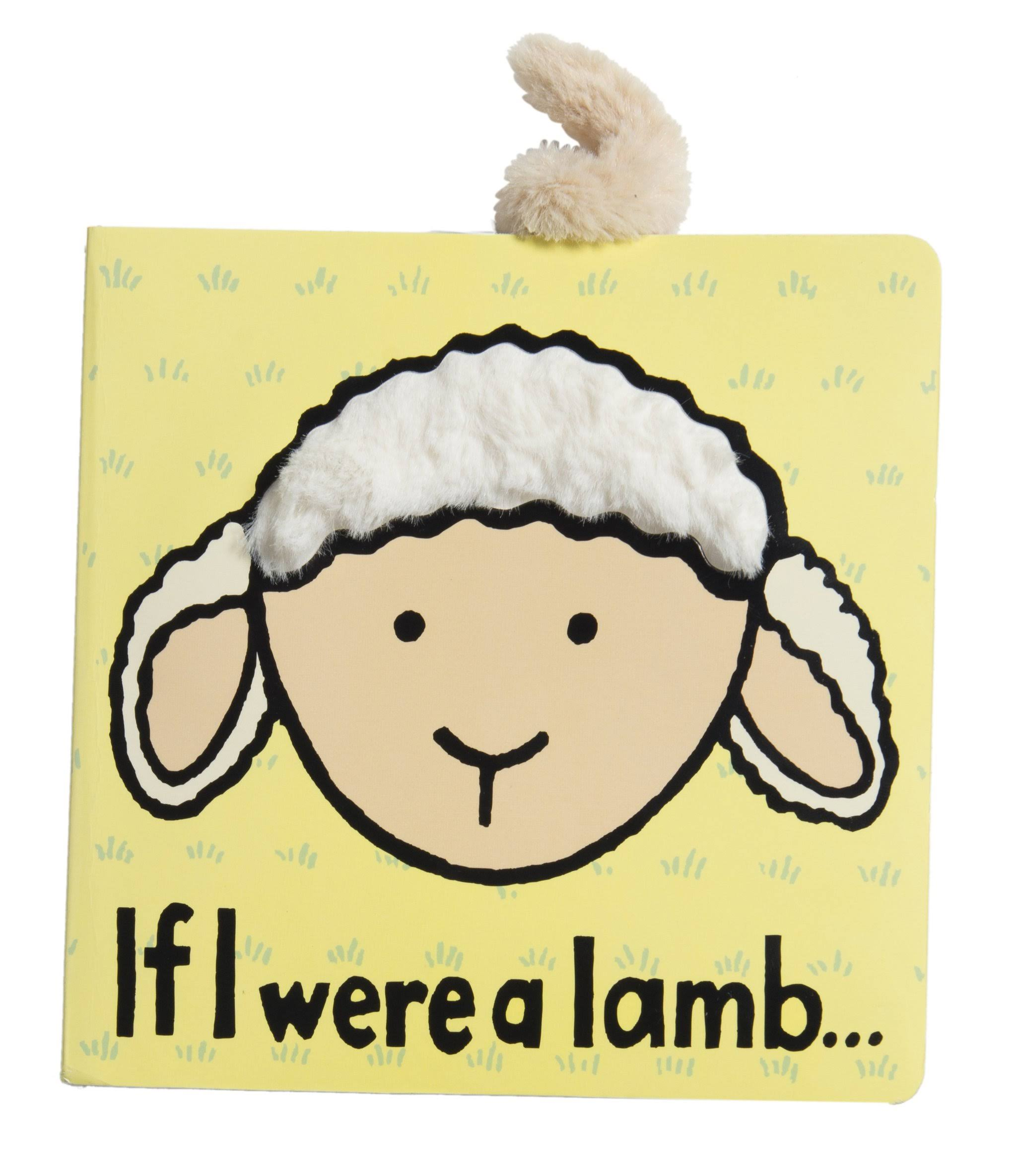 Jelly Cat If I Were a Lamb Book