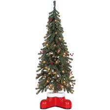 Potted Christmas Trees For Sale by E12 4 Ft Potted Santa Boot Christmas Tree At Home At Home