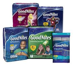 Goodnites Disposable Bed Mats by Goodnites Tru Fit Underwear With Nighttime Protection Starter Pack