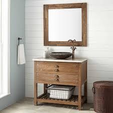 36 benoist reclaimed wood vessel sink vanity pine bathroom