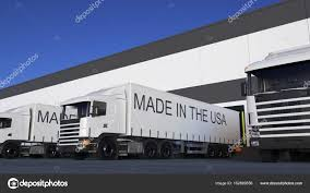 Freight Semi Trucks With MADE IN THE USA Caption On The Trailer ... American Usa Truck Lorry New York City Nyc Impressive Design Large Truck Cargo Game Simulator Free Download Of Android Version Usak Stock Price Inc Quote Us Nasdaq Mack Trucks Media Rources Why Im Not Buying Smaller Truckload Peer Valuations Seeking Alpha Volvo Vnl Specifications Tour Coca Usa Cola In Photo Picture And Royalty Free Image Folsom Ca Jun 102017 Edit Now 663922816 Warner Truck Centers North Americas Largest Freightliner Dealer Arkansas 1965 Family Haing Out Around The Classic Chevy