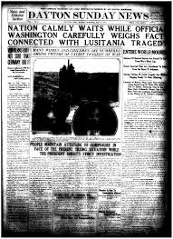 When Did Germany Sink The Lusitania by Tdih 1915 Lusitania Sunk By German U Boats Out Of The Box