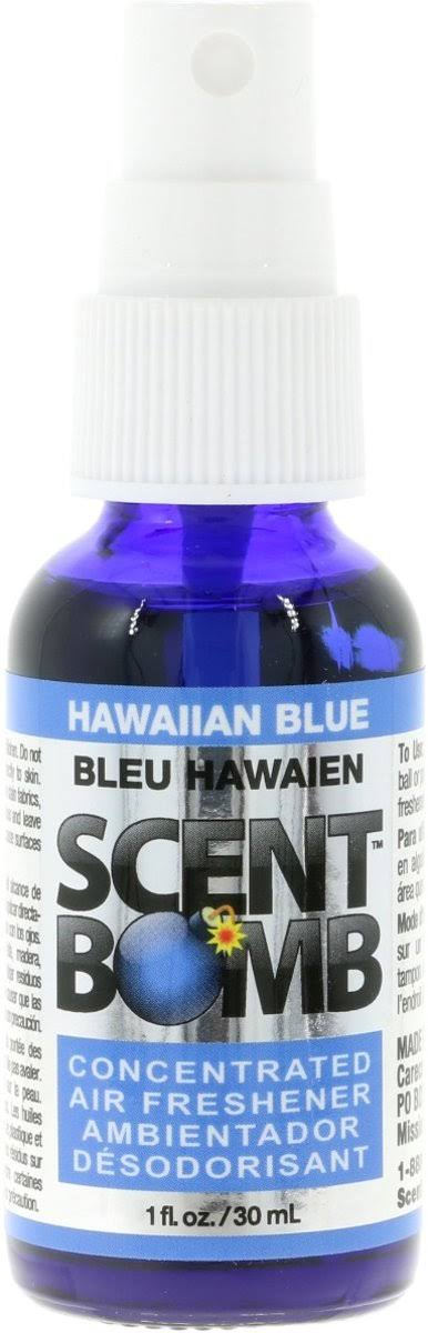 Scent Bomb Hawaiian Blue Air Freshener
