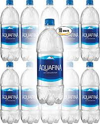Aquafina Water Pure Perfect Taste 169 Fl Oz Pack Of 10