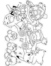 Free Pokemon Advanced Coloring Page Pages 260 Printable