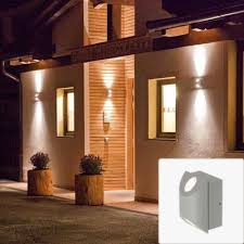 jago led outdoor updown wall light 6w 3k 230vip54 globelink