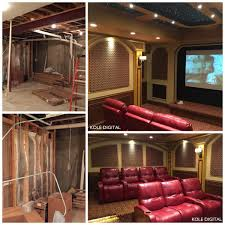 Before After Transformation Traditional Home Theater