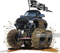 Cartoon Monster Truck Vector Art | Getty Images Monster Truck Clip Art Clipart Images Clipartimagecom Cartoon Royalty Free Vector Image 4x4 Buy Stock Cartoons Royaltyfree Monster Truck Available Eps10 Vector Format With Illustrations Creative Market Red