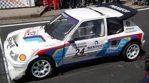 Peugeot 205 TURBO 16 Group B WRC 205 T16 Rally car Sound