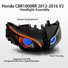 motorcycle projectors drl or hid what s