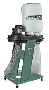 Dust Collector Floor Sweep by General International 3 4hp Commercial Dust Collector 10 055m1