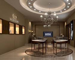 JE119 Jewellery Shop Designs With Display Furniture