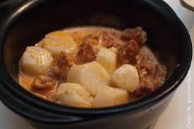 cuisiner les noix de st jacques surgel馥s cassolettes de noix de st jacques au chorizo