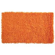 Amazon Creative Bath Orange Loop Rug Bath Mat Home & Kitchen