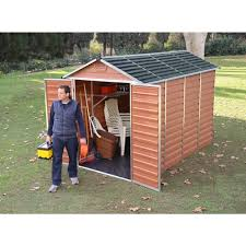 Lifetime 15x8 Shed Uk by Plastic U0026 Pvc Sheds U0026 Garages Gardening Shop Uk