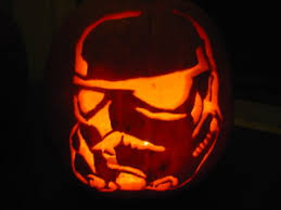 Stormtrooper Stencil Halloween by Awesome Carved Pumpkin Art