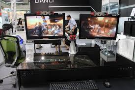 Lian Li Computer Desk by Computex 2014 Hands On With Lian Li U0027s Dk 01x And Dk 02x Desk Chassis