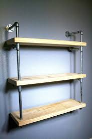 Bathroom Shelf Pipe Shelves Industrial furniture