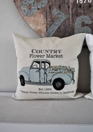 100 Seedling Truck Pin By Cathy Johnson On Pillows Pillows Spring Pillow Covers