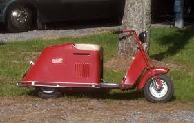 By 1947 Cushman Model 52 My First Scooter Got It In 1993