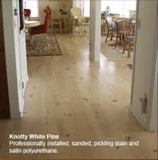 Flooring Knotty White Pine